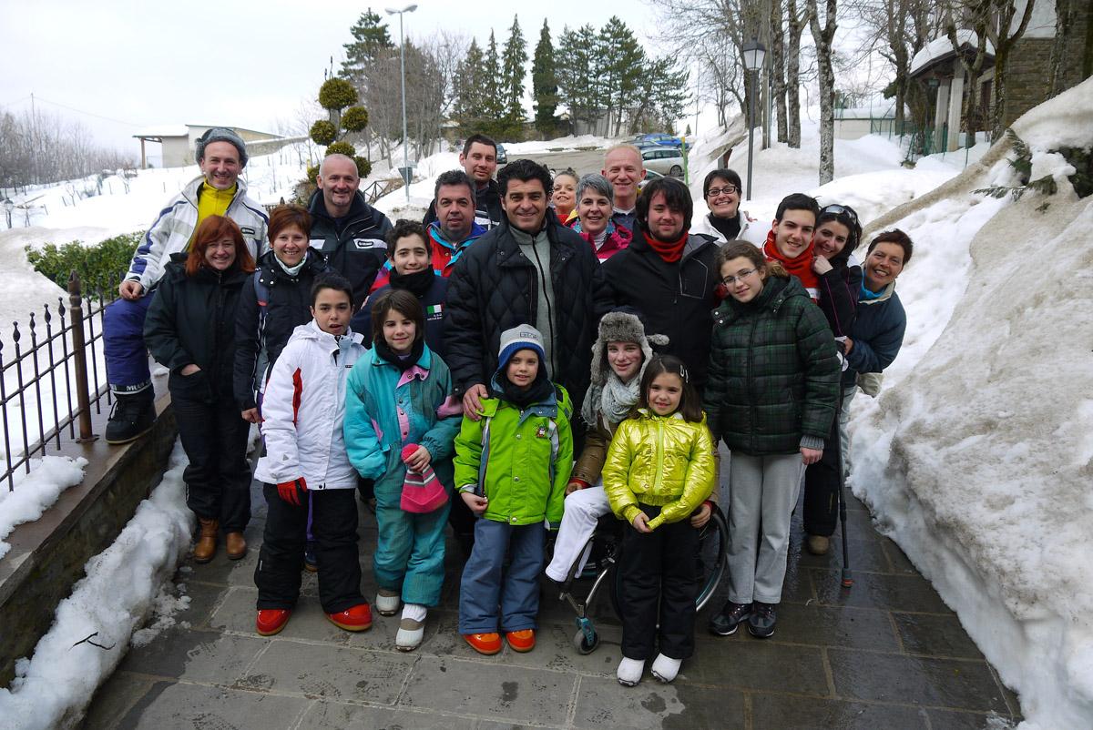 Alberto Tomba all'edizione 2013 di ski4sport
