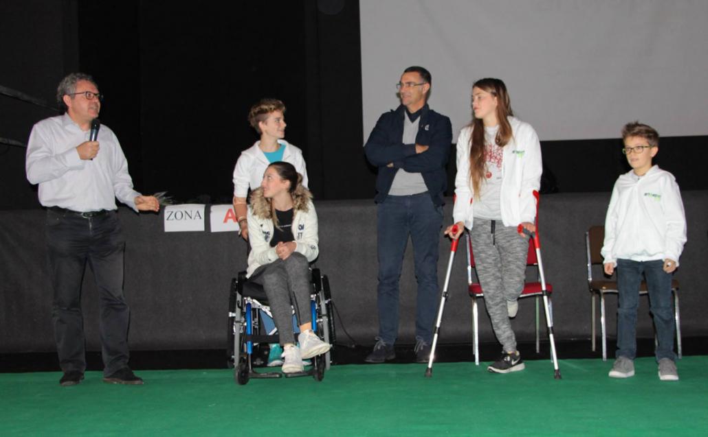 con Bebe, Yoko, Sara B. e Riccardo C.
