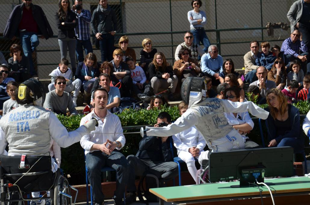 La Scherma in Piazza Palermo